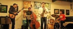 """Miguel Martins & Javier Ortí """"4to Ibérico""""en Festival Jazz Moncarpacho"""