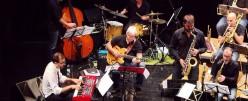 Andalucía Big Band en Escuela de música de Espartinas