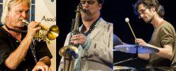 Coleman, Ortí, Megina Trío en Juventudes Musicales