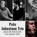 Pete Johnstone Trio con Javier Ortí en The Hall